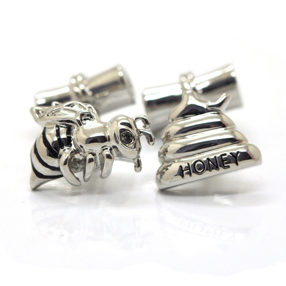 Bees and Honey cufflinks#1