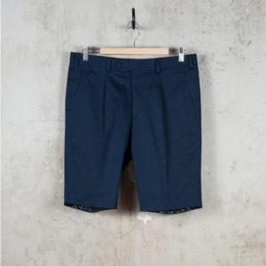 Viktor shorts Navy-CROP