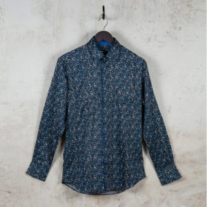 Williem Shirt Blue pattern-CROP
